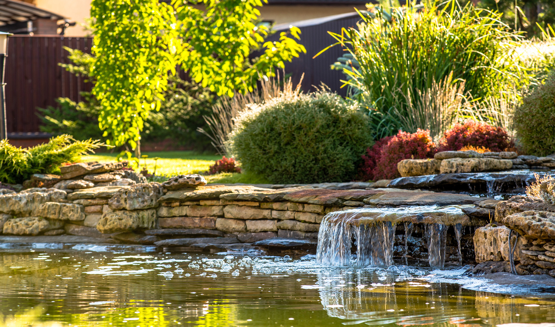 How to Landscape around your Waterfall